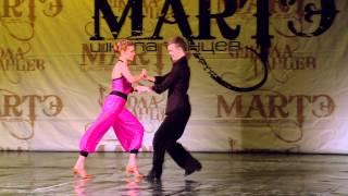 Спортивные бальные танцы, смотреть всем! Школа танцев МАРТЭ