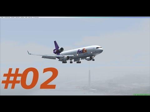 Let´s Play FSX [Flug 64 Part 2] PMDG MD 11 Honolulu - Taipei