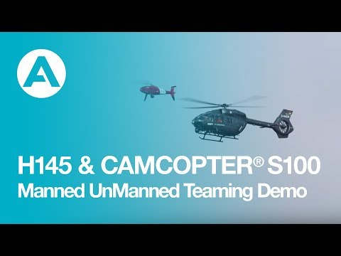 CAMCOPTER® S-100 and H145 - Manned UnManned Teaming Demonstration