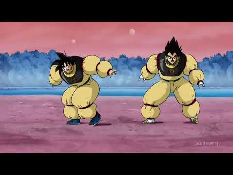 Goku And Vegeta Train On Beerus's Planet Dragon Ball super English Dub