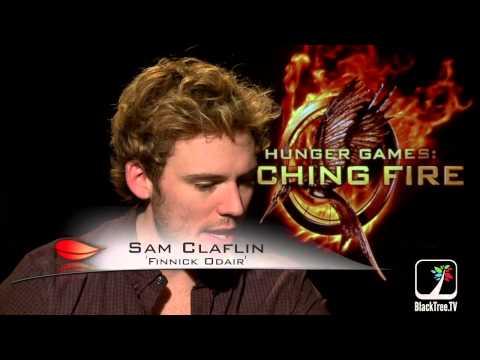 Catching Fire interviews w/ Sam Claflin and Jena Malone