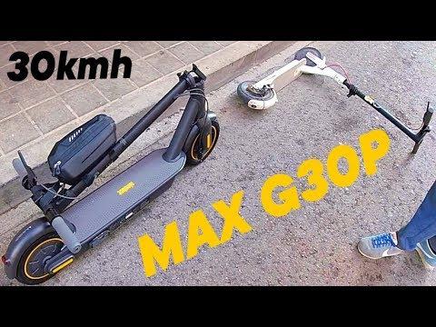 КОЛОНКОВОЗ НОВЫЙ Ninebot MAX G30P