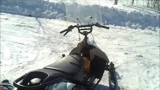 Снегоход рыбинка // Покатушки.