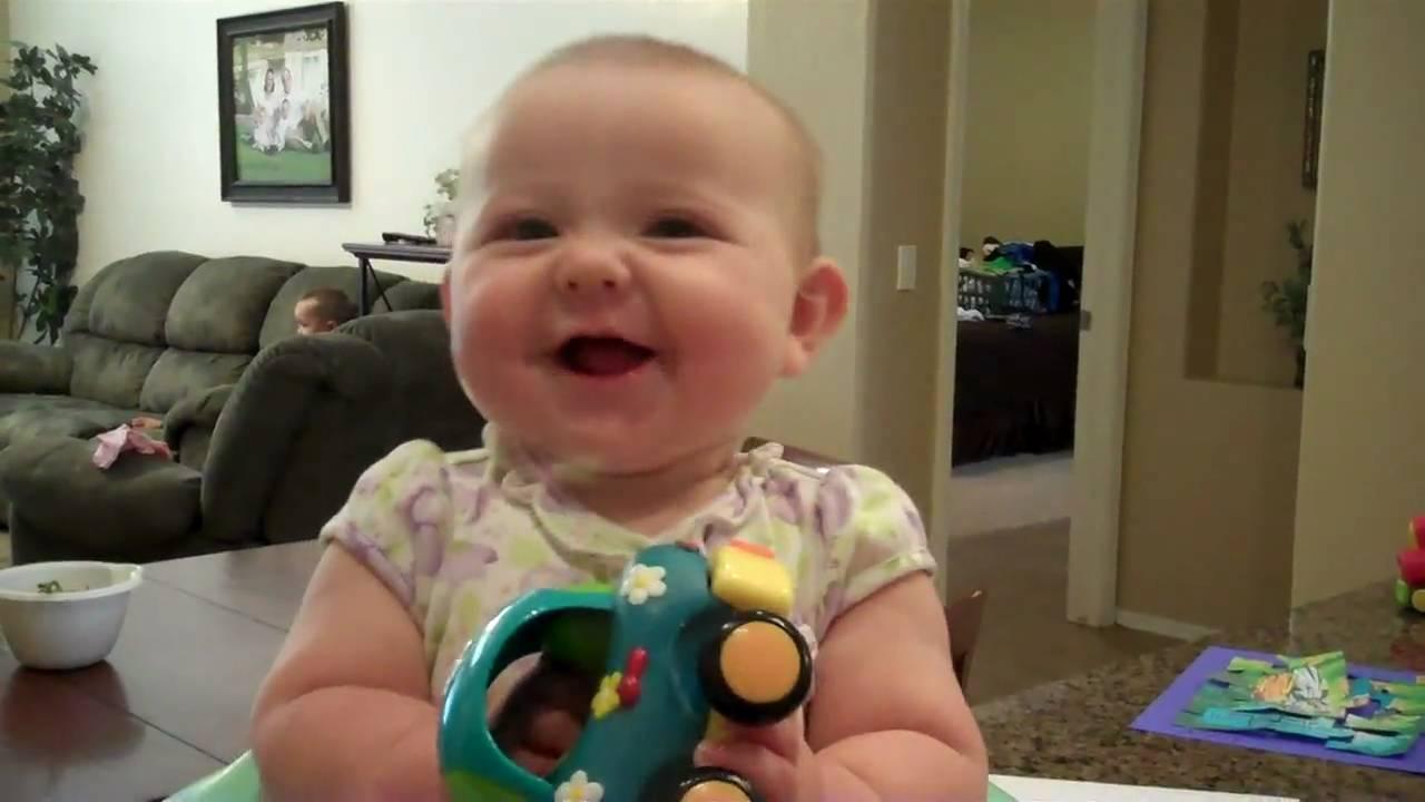 5 Month Baby Gibberish - Rachelle