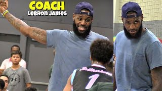 LeBron James Coaches Bronny Jr! North Coast Blue Chips STILL UNDEFEATED