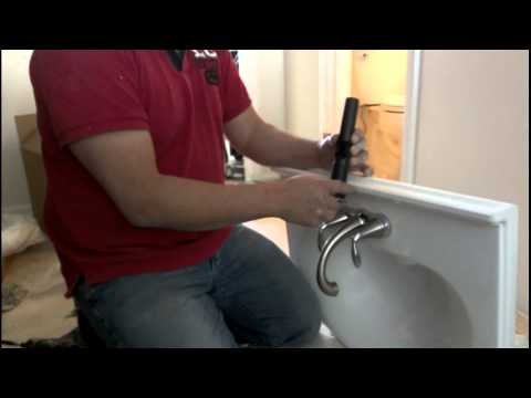 Como instalar un lavamanos youtube - Como cambiar un lavabo ...