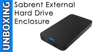 Sabrent 2.5-Inch External Hard Drive Enclosure Unboxing
