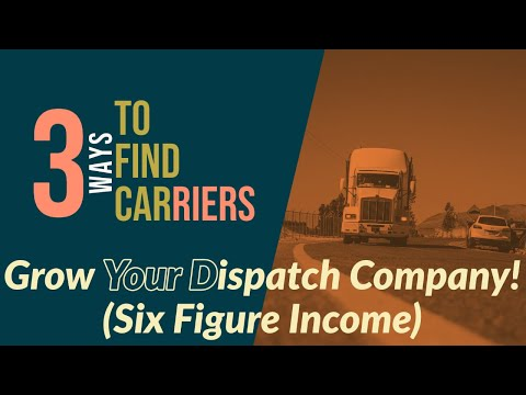 Starting A Truck Dispatch Company| How To Find Carriers & Leads| Work From Home|