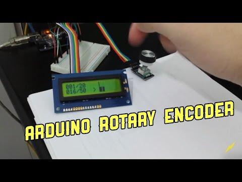 Arduino - rotary encoder (rotativo) com Display LCD
