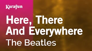 Karaoke Here, There And Everywhere - The Beatles *