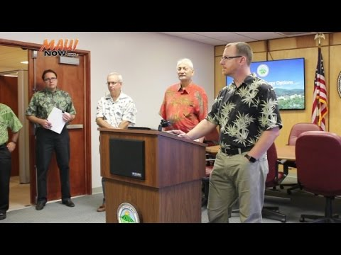 Maui Energy Options Analysis Press Conference - Part 1
