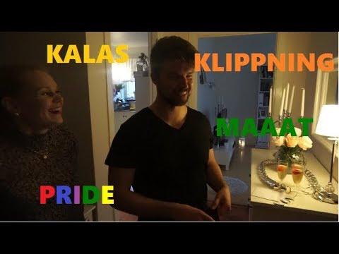 En vanlig vlogg | Prideparad, kalas och MAAAT!