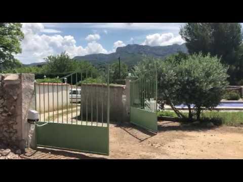 Cancello Elettrico A Due Ante.Automazione Di Un Cancello A Due Ante Con Braccio Articolato Con
