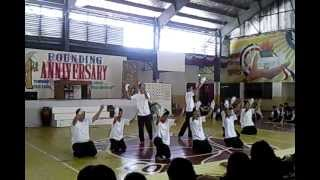 Saint Francis Prayer  interpretative dance ENGINEERING dept.