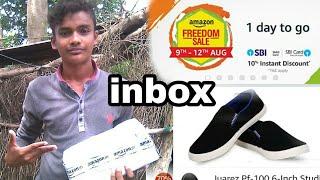 Amazon freedom sale & inbox my Leewon Men's Black Canvas Loafers