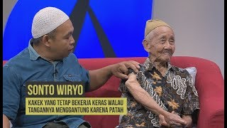 Kakek 84 Tahun Tetap bekerja Meski Tangan Menggantung   HITAM PUTIH (13/12/19) Part 4