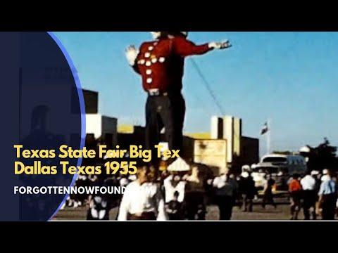 Found Footage: 1955 Texas State Fair Big Tex Amusement Rides Bumper Cars Birthday Party