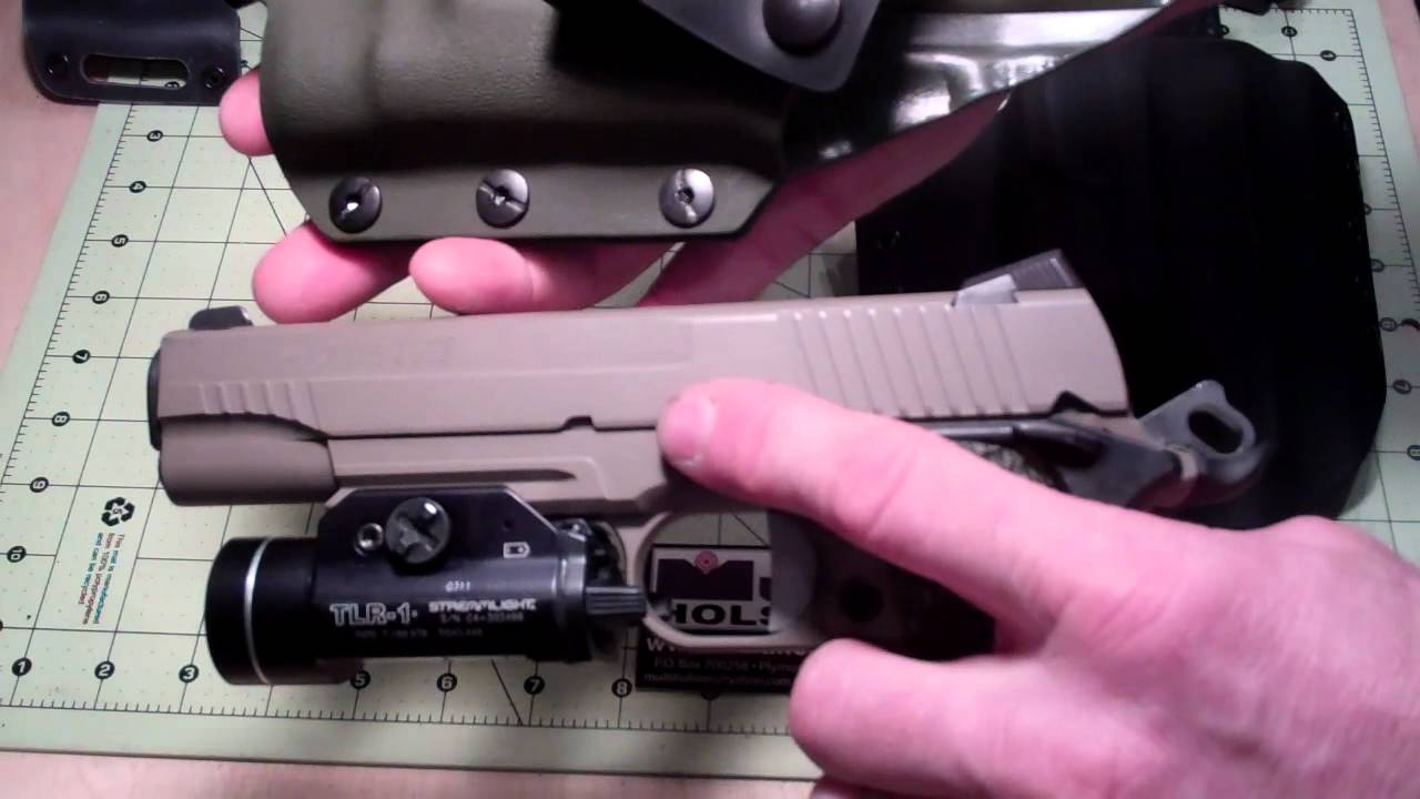 Sig Sauer Scorpion 1911 Holsters by MULTI HOLSTERS