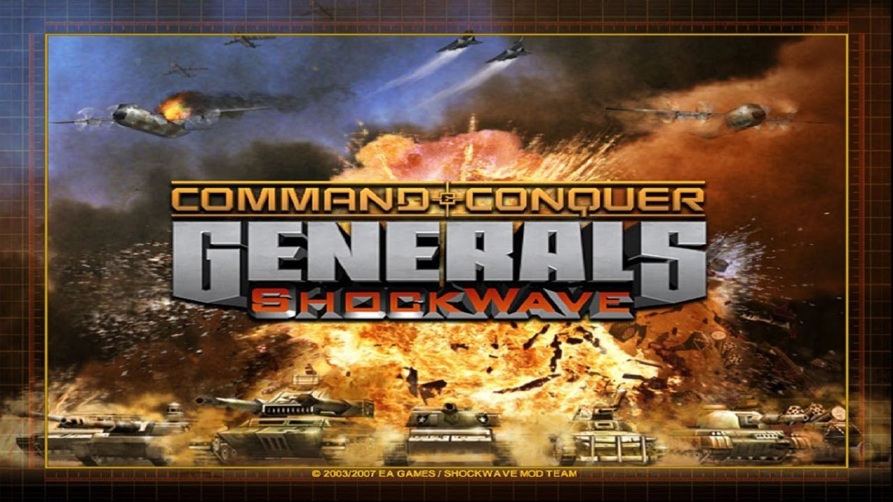 تحميل لعبة command and conquer generals