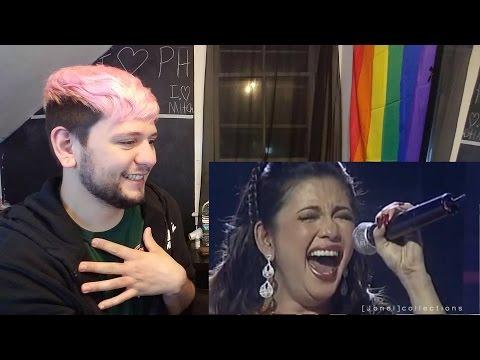 The Best LIVE Singer in the World! Regine Velasquez (REACTION!!!)