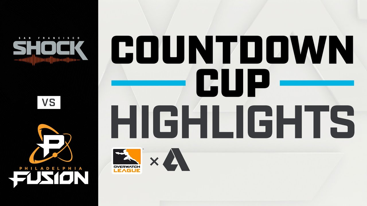 Akshon Highlights | FINALS | @San Francisco Shock vs @Philadelphia Fusion | Countdown Cup | NA Day 3