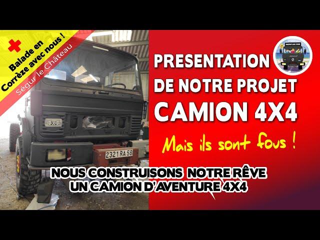 #88 - CAMION 4X4 PRESENTATION DE NOTRE PROJET