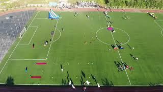 Усинский стадион лето спорт