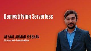 Demystifying Serverless - MVP Show ft. Zeeshan Ep. 2