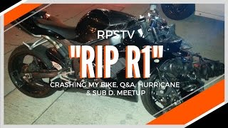 Crashing my motorcycle, Hurricane, Q&A  + Suburban Delinquent meetup