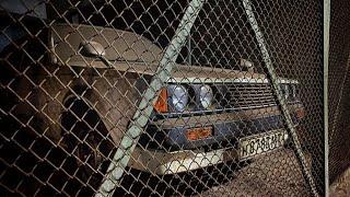 Фото Toyota из СССР. Брошена на 25 лет в гараже!