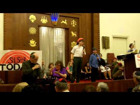 Broadcast Jews - Purim Spiel 2016 - Town & Village Synagogue - NYC