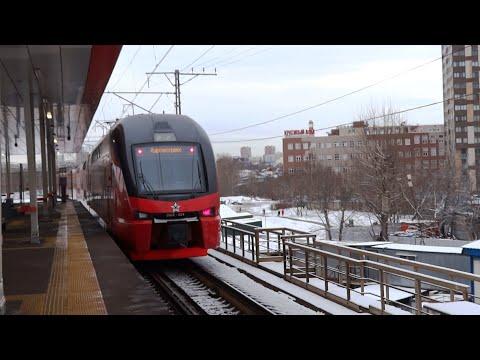 МЦД-1 двухэтажный ЭШ2-024 ст. Одинцово - Немчиновка