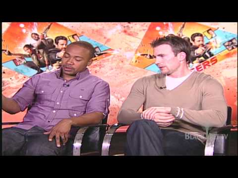 CHRIS EVANS, COLUMBUS SHORT AND OSCAR JAENADA win with THE LOSERS