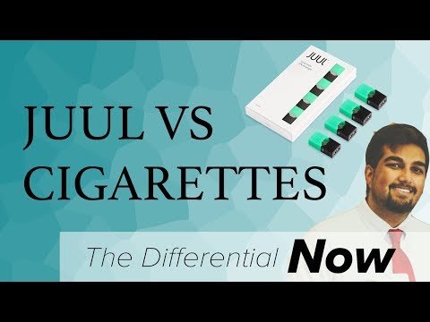 JUUL v.s. Cigarettes: Physicians Weigh In | The Differential Now