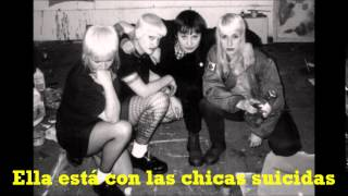 Cock Sparrer - Suicide Girls (Subtítulos Español)