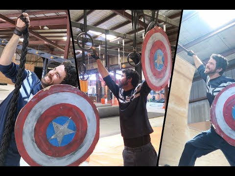 Is it Possible to do Parkour with a Captain America Shield?