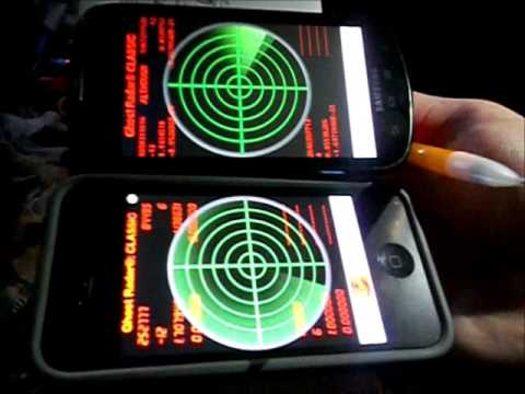 Ghost Radar Classic App Instructions