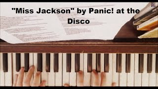 Panic! At The Disco - Miss Jackson ft. Lolo (Piano Cover + Tutorial) WITH FREE SHEET MUSIC