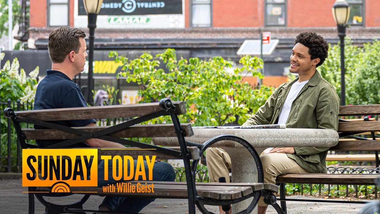 Trevor Noah Talks Return To 'The Daily Show' Studio