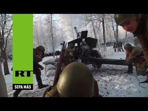 La decisiva victoria del Ejército Rojo contra los nazis en Krásnoye Seló en 1944 (reconstrucción)