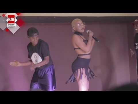 Amber Lulu afanya balaa katika Stage ya Maisha Club