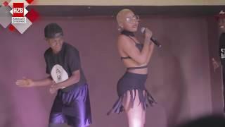 vuclip Amber Lulu afanya balaa katika Stage ya Maisha Club