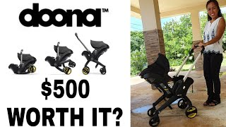 Doona Stroller / Car Seat Review: Is it Worth It?