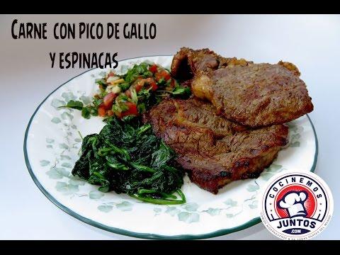 Carne a la parrilla con vegetales 🥒Como asar carne a la parrilla
