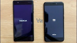 Nokia 3 Vs Redmi 4 SpeedTest Comparison I Hindi