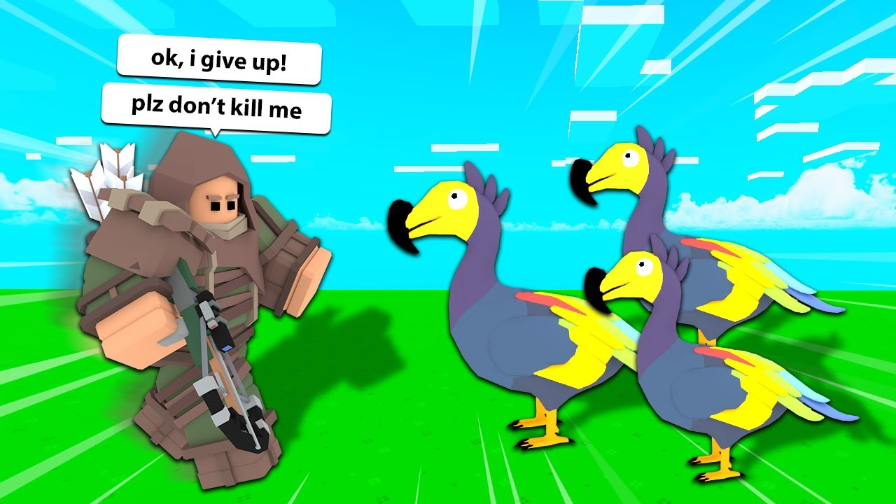 Download Abusing Players Using DODO BIRDS in Roblox Bedwars...