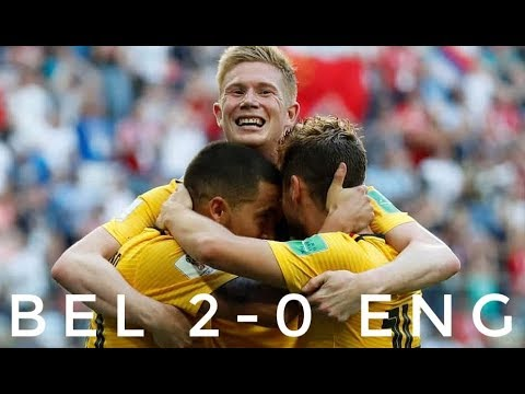 Download BEL 2-0 ENG | All Goals and Extended Highlights | World Cup 2018 - From Stands