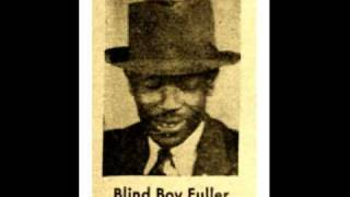 Careless Love - BLIND BOY FULLER (1937) Blues Guitar Legend