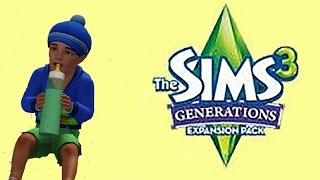 Let's Play The Sims 3: Generations- First Poop [Part 19]