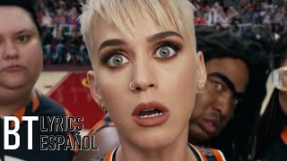 Katy Perry - Swish Swish ft. Nicki Minaj (Lyrics + Español) Video Official